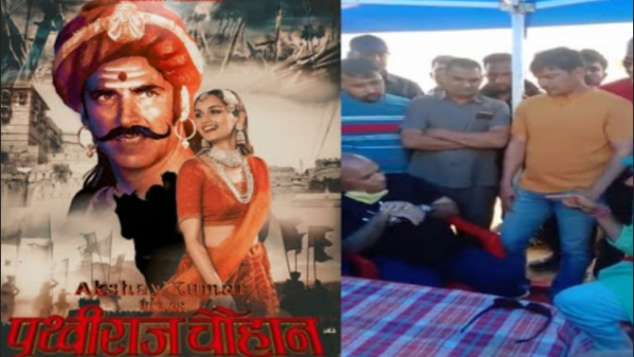 Karni Sena blocks Film Prithviraj Chauhan's shooting in Rajasthan