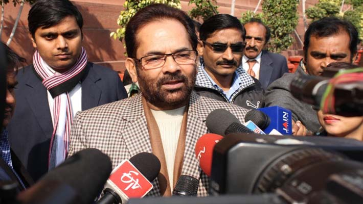 Rights of SC/STs, minorities absolutely safe under Modi govt: Naqvi