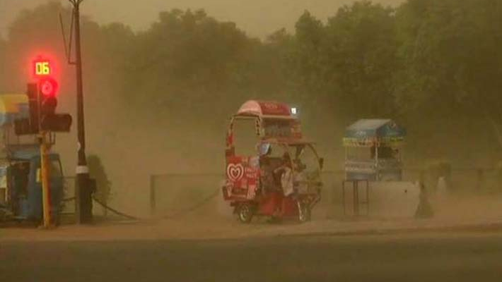 Indian Meteorological Department issues 72 hours warning about thunderstorm