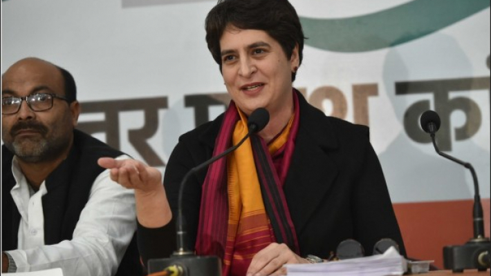 Congress thinking to send Priyanka Gandhi to Rajya Sabha