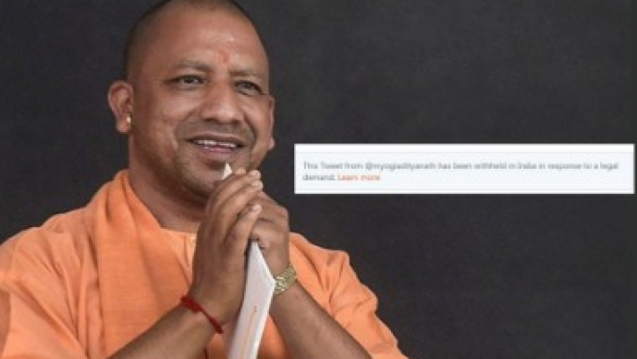 Twitter takes down Adityanath's controversial tweets on EC's directive