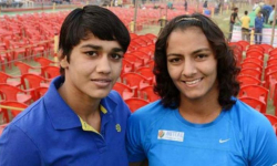 Phogat sisters dropped from Asiad camp, Babita claims she is injured
