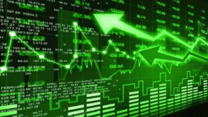 Sensex soars 537 points ahead of exit poll results