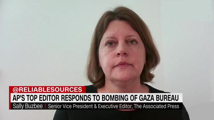 AP's top editor calls for probe into Israeli airstrike