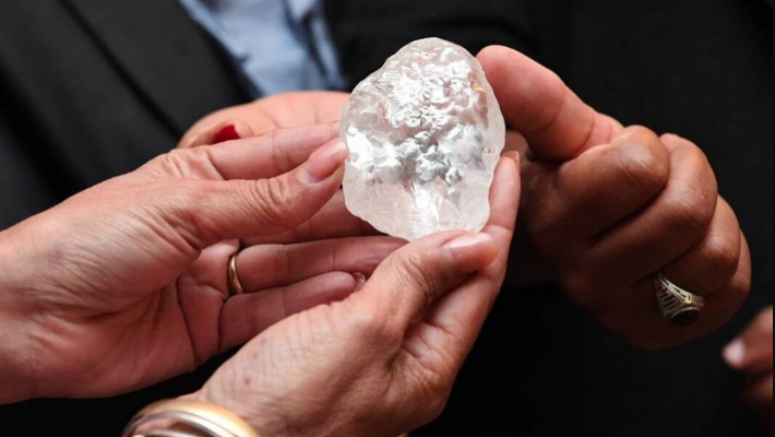 Big diamond found in Botswana, could be world's 3rd largest