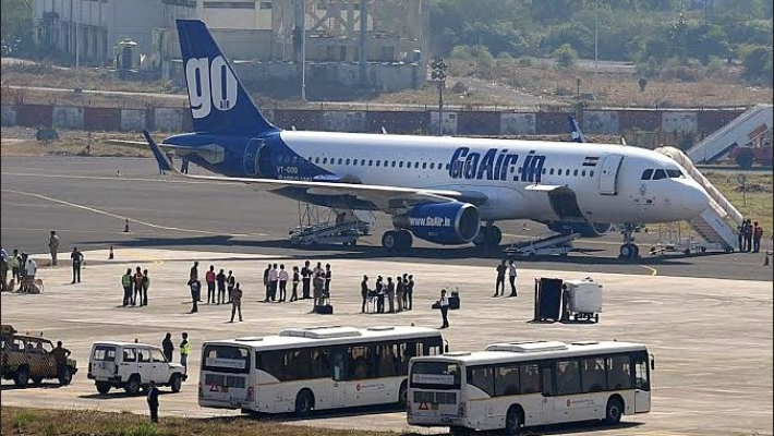 GoAir's aircraft suffers bird hit, passengers safe