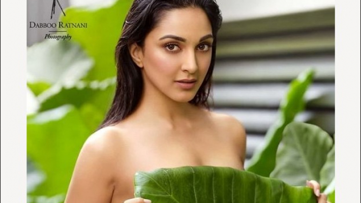 Bhumi, Kiara go topless for calendar shoot