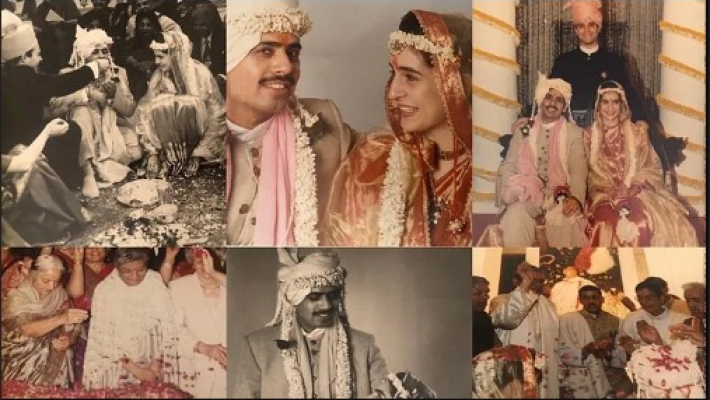 Priyanka Gandhi shares wedding photos on anniversary