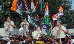 West Bengal panchayat polls: TMC races ahead, BJP main rival