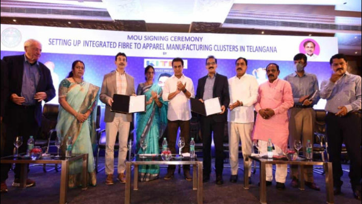 Telangana, KITEX group sign MoU to set up integrated fibre to apparel-making clusters
