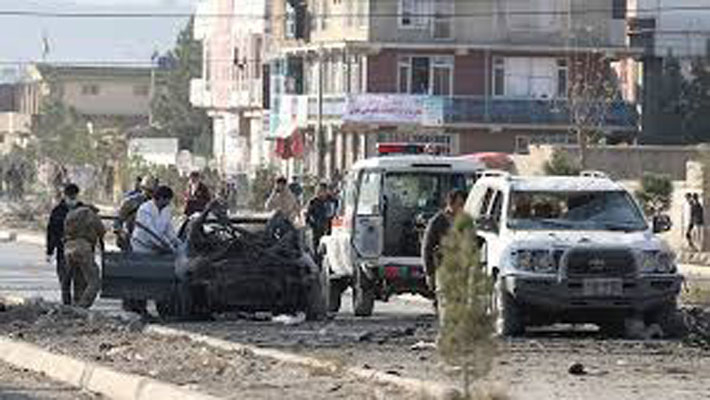 Car bombing in Afghanistan kills 12, wounds more than 100