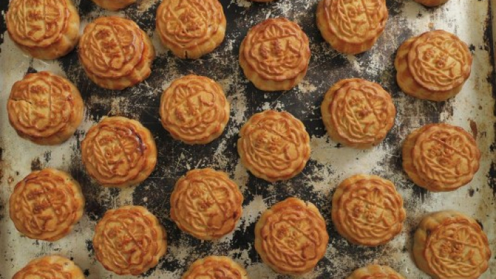 Hong Kong bakery's mooncakes carry protest movement slogans