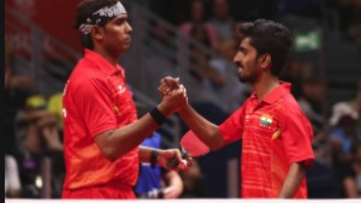 Sharath Kamal-Sathiyan storm into men's doubles quarters of Asian TT