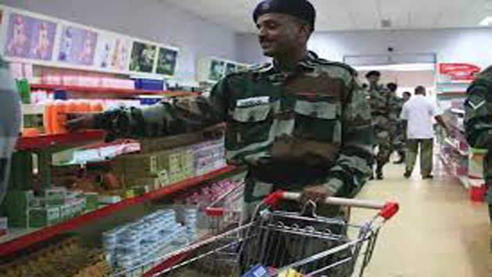 No decision on selling only 'Made in India' products in military canteens:Govt