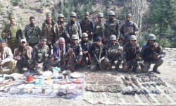 Army busts terror hideout in Doda; recovers ammo, Hizb donation books