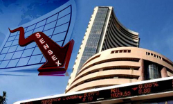 Sensex falls over 50 pts on negative global cues, weak rupee
