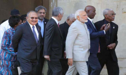 PM Modi joins world leaders for CHOGM retreat in UK