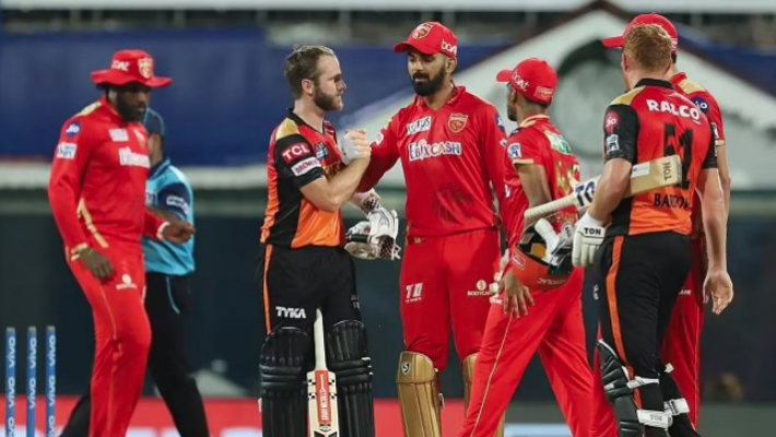 Sunrisers Hyderabad beat Punjab Kings by nine wickets