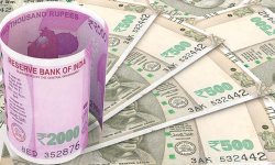 Rupee falls 12 paise to fresh 16-mth low against dollar