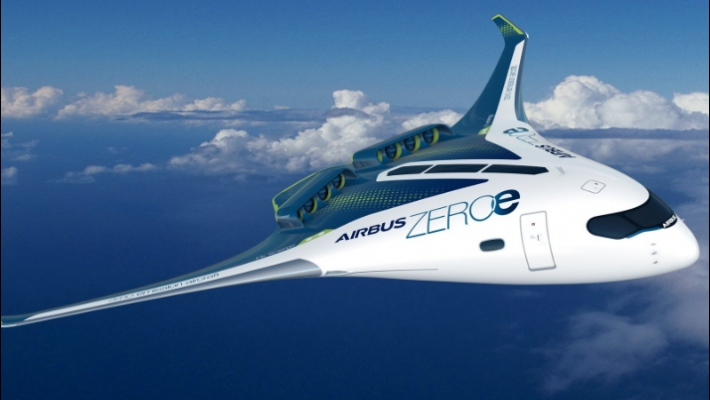 Airbus reveals concepts of new hydrogen-powered zero-emission aircraft