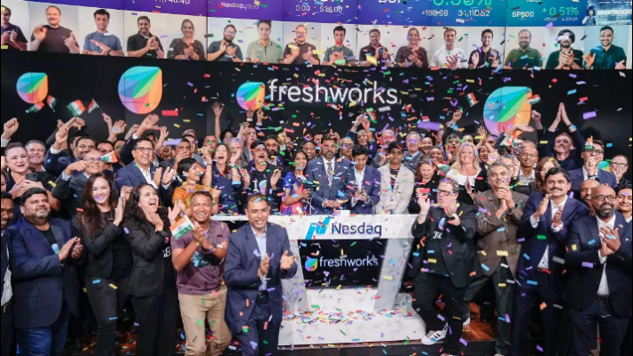 Freshworks becomes first Indian SaaS startup to list on Nasdaq