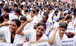 Nurses call off strike after hike in basic salary to Rs 20,000