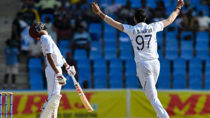 Ishant's five wicket haul puts India on top against Windies