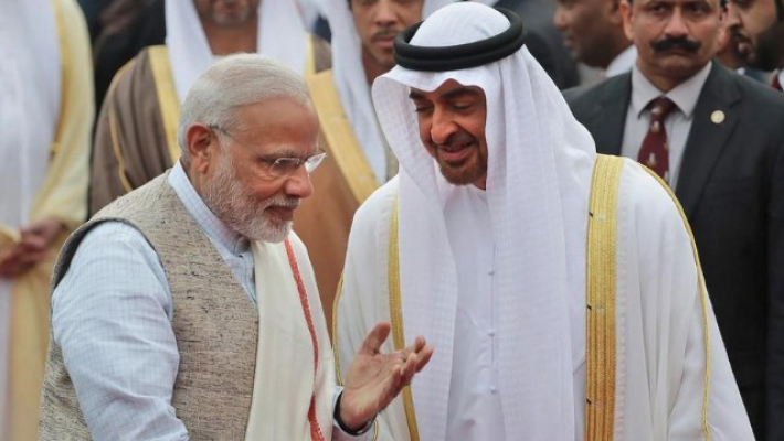 PM Modi, Abu Dhabi crown prince discuss