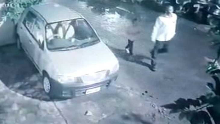 CCTV footage has come to fore in the case of kidnapping of a 6-year-old girl