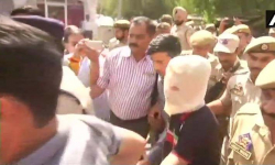 Juvenile accused in Kathua case appears in court, given chargesheet