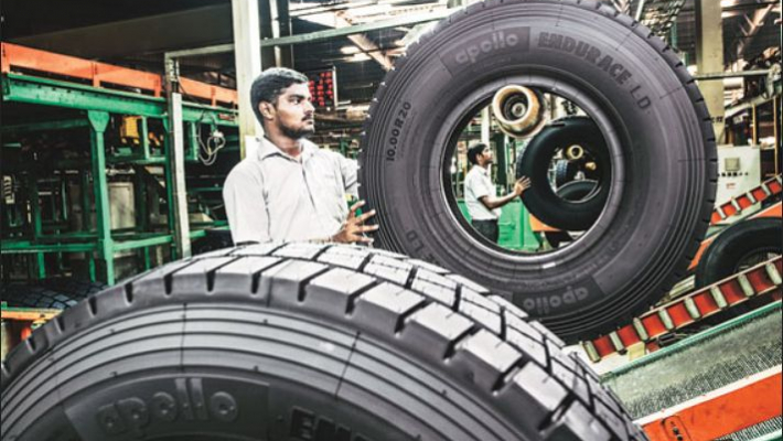 Apollo Tyres commissions Andhra-based greenfield manufacturing facility