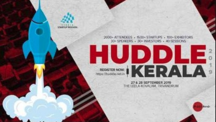 Global giants to help startups at Huddle Kerala 2019