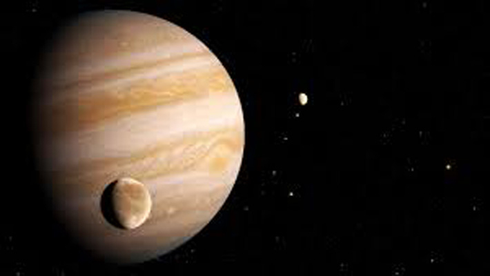 Hubble finds first evidence of water vapour on Jupiter's moon Ganymede