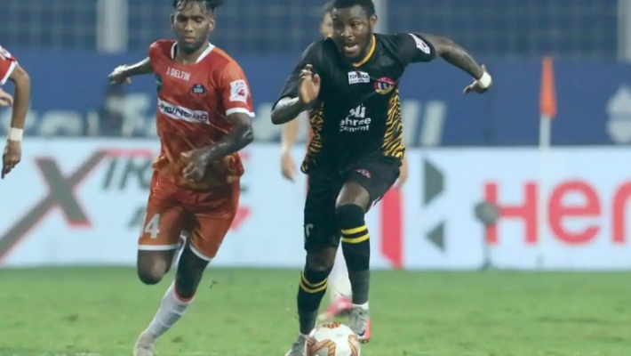 FC Goa hold SC East Bengal 1-1 after Bedia gets red card