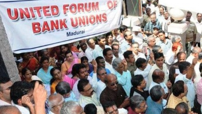 Mergers lack logic, will further destabilise economy: Bank unions