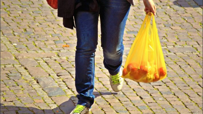 Carry your own bag, wash plastic packets from grocery stores